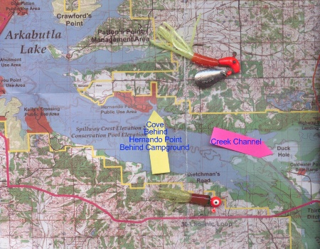 Arkabutla Lake Crappie Fishing Hotspots Mississippi Lake Slab Crappie